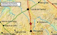 Registrado un leve seísmo entre Monesterio y Montemolín