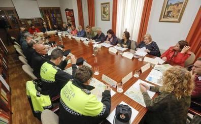 Policía Nacional, Local y Guardia Civil se coordinan ante el «desafío» del 18-N en Cáceres