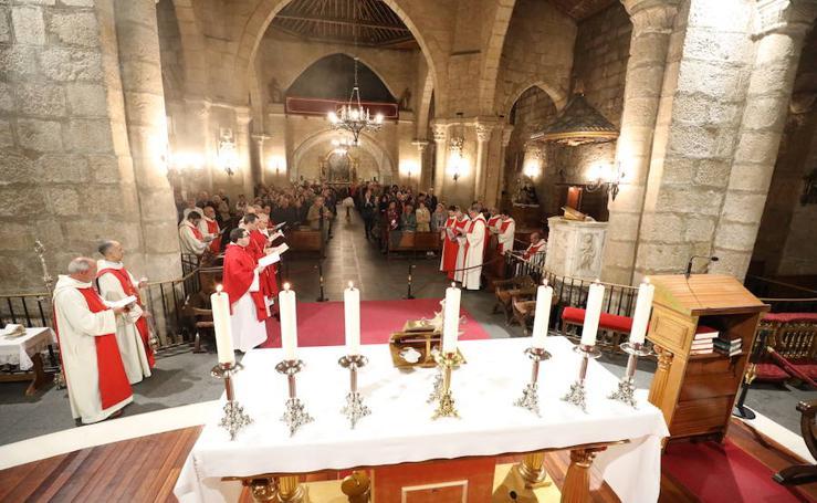 Misa hispano mozárabe en la Basílica de Mérida