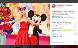 Todos desean cumpleaños feliz a Mickey Mouse