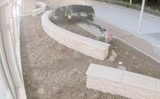 Brutal accidente de un coche