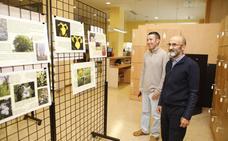 Exposición sobre el entorno del Marco en Cáceres