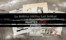 'La guerra contra las drogas', en Mega