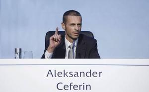 Ceferin: «La Superliga europea es una ficción, un sueño»