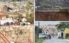 Los vecinos de Borba habían alertado del riesgo de derrumbe de la carretera