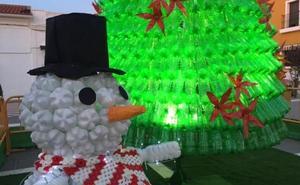 Entrín Bajo volverá a lucir decoración navideña con reciclaje