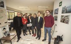 Visita a HOY del ministro de la embajada japonesa