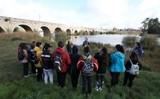El Instituto Extremadura visita el río Guadiana