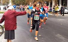 La abuela animadora de maratones