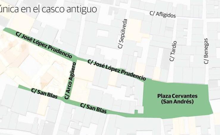 Nueva plataforma única en el Casco Antiguo de Badajoz