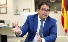 Vergeles dice que recepcionarán las obras del Hospital Universitario de Cáceres «en pocos días»