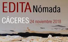 Ponencias, lecturas y recital poético en Cáceres con 'Edita Nómada'