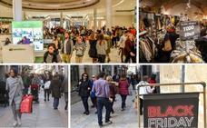El 'Black Friday' llena los comercios de la región
