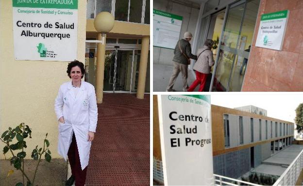 Centros de salud de Alburquerque y Badajoz, premiados por buenas prácticas