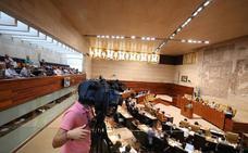 La Asamblea de Extremadura debate este martes la enmienda a la totalidad del PP a los presupuestos para 2019