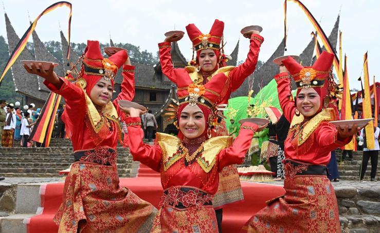 Festival de arte y cultura Minangkabau 2018