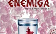 La residencia universitaria Hernán Cortés acoge este jueves la obra 'Enemiga'
