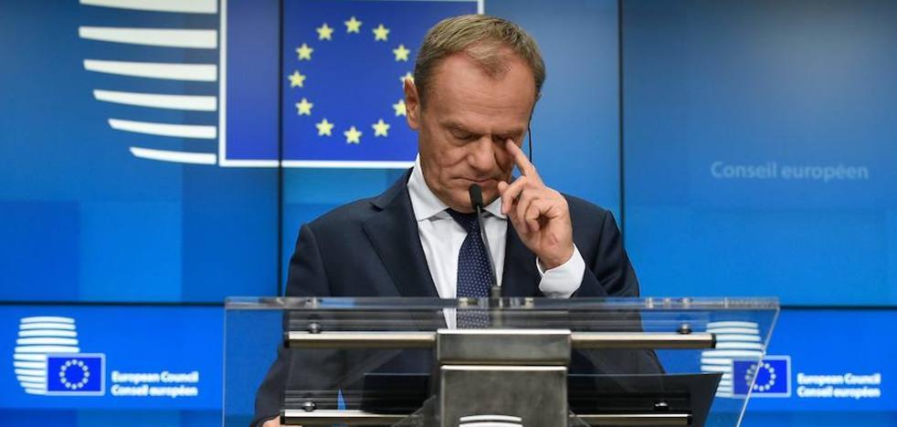 Tusk avisa a Londres que si rechaza el pacto «o habrá salida sin acuerdo o no 'brexit'»