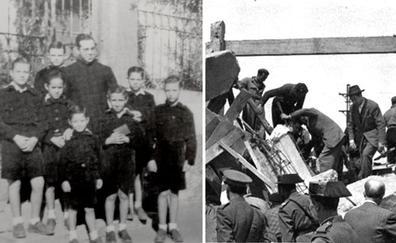 Los niños de negro del cura y el gran accidente de las minas de Cáceres