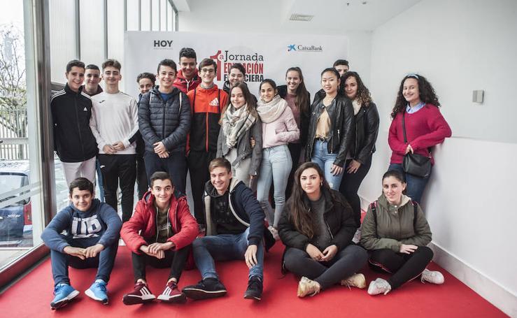Grupos de la I Jornada de Educación Financiera de Caixabank