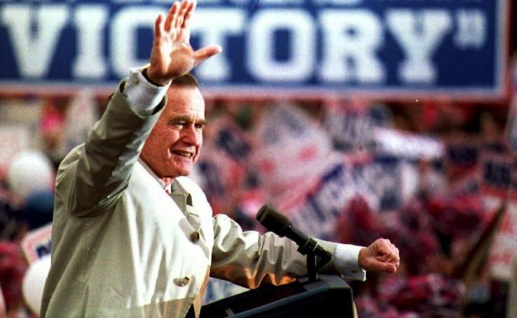 La vida de George H. W. Bush en imágenes