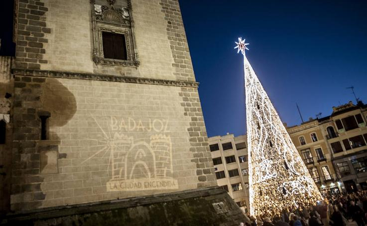 Badajoz enciende su Navidad