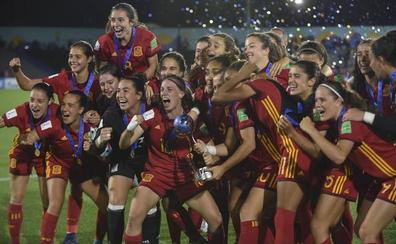 España gana su primer Mundial femenino