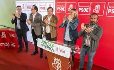 Presentación en Plasencia del candidato socialista Raúl Iglesias Durán