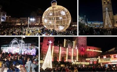 Las luces de Navidad de la región olvidan la crisis económica