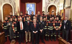 Los bomberos de Badajoz amplían su plantilla y llegan a los 62 trabajadores