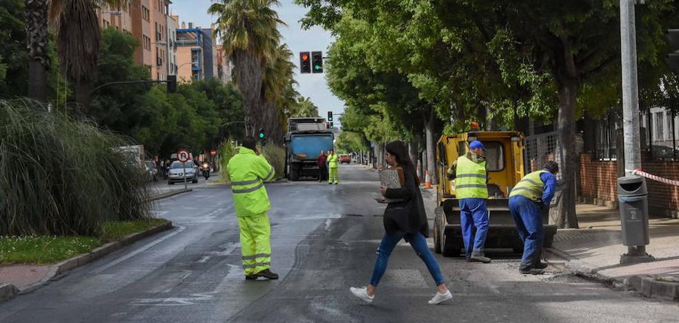 Badajoz asfaltará 50 calles entre este mes y enero