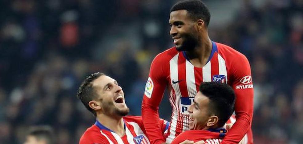 Un Atlético titular para golear al Sant Andreu