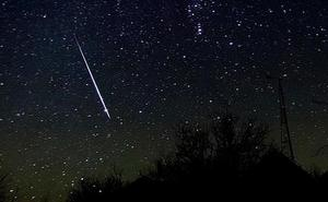 Olivenza emitirá en directo las Gemínidas, la última gran lluvia de estrellas del año
