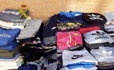 Intervienen 639 prendas falsificadas en la provincia de Cáceres