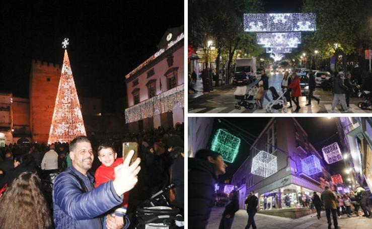 La Navidad ya brilla en Cáceres