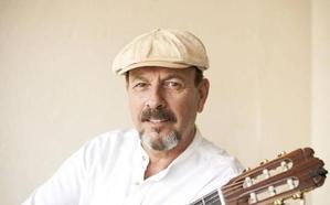 Javier Ruibal presenta su disco, 'Paraísos mejores', en Cáceres