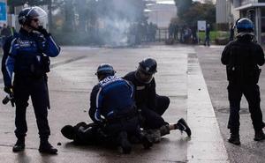 Macron agita el fantasma de la guerra civil