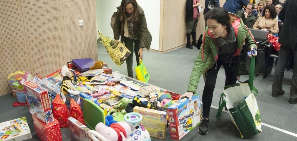 Badajoz se vuelca en la recogida de juguetes