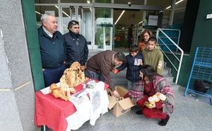 Recogida de alimentos de la Cofradía del Prendimiento de Mérida