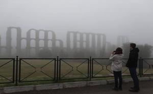 Aviso amarillo por baja visibilidad por nieblas este viernes y el sábado en Extremadura