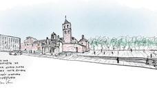 Mérida plantea crear una gran Plaza de Santa Eulalia en torno a su basílica