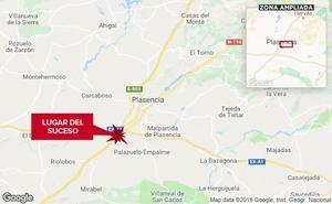 Fallece un hombre de 39 años al ser atropellado en la A-66 cerca de Plasencia