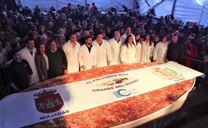 5.000 raciones de un polvorón Guiness en Miajadas para iniciar la Navidad