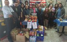 La Peña Atlética de Malpartida de Cáceres reúne 400 kilos de alimentos para Cáritas