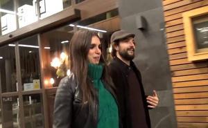 Elena Furiase y Gonzalo Sierra disfrutan de una cena románica