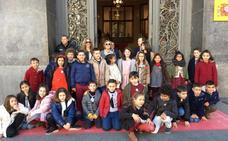 Escolares del Sierra de Gredos comparten acto con la ministra Celaá