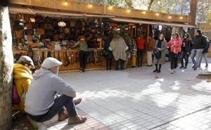 Un mercadillo navideño abierto 36 días en Cáceres