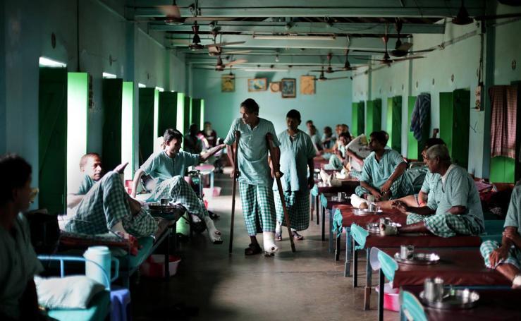 Gandhiji Prem Nivas, un centro de lepra creado por la Madre Teresa