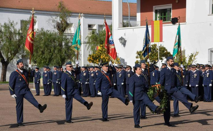 Actos de celebración de la Virgen del Loreto en la Base Aérea de Talavera la Real
