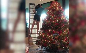 Jennifer Lopez revoluciona instagram con unas fotos navideñas